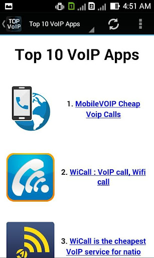 30+ VoIP Apps