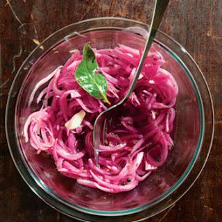 Yucatecan Pickled Red Onions (Escabeche De Cebolla)
