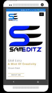 SAM Editz - náhled