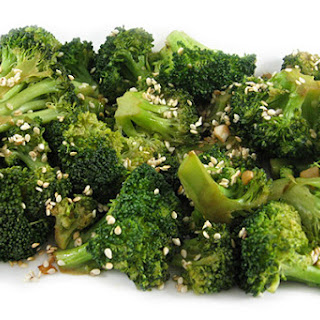 Garlic Sesame Broccoli Stir Fry Side Dish