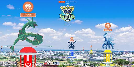 [官方活動]Pokemon GO Fest 2021:在團體戰出現過的傳說的寶可夢將在團體戰日登場!