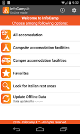 Info Camp - camping rest area Apk Download Free for PC, smart TV