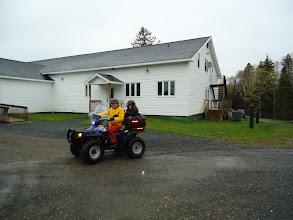 Photo: Sat, May 14/11 SBC ATV Day - Charles and Mariah Walker