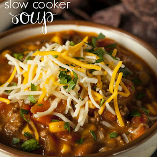 Quick & Easy – Slow Cooker 7 Can Soup Recipe!.