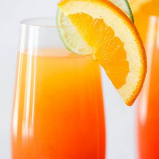 Tequila Sunrise Mimosa.