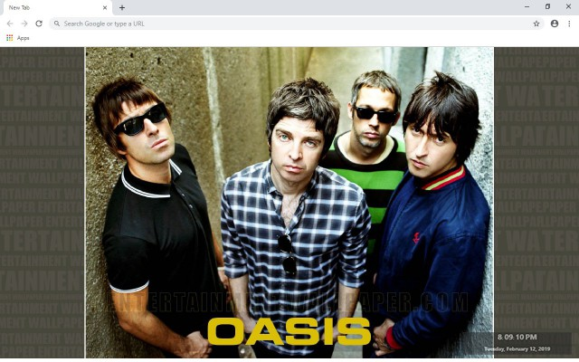 Oasis New Tab & Wallpapers Collection