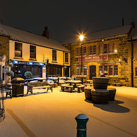 Winter in Guisborough by Andrew Oxby - Buildings & Architecture Office Buildings & Hotels ( snow winter guisborough teesside )