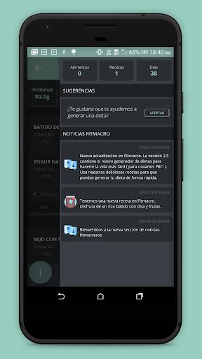 Contador de Calorías Fitmacro screenshot 3
