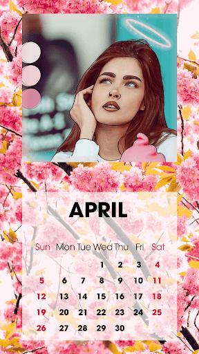 Calendar Photo Frames 2020 screenshot 2
