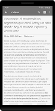 Argentina News - Clarrin screenshot thumbnail
