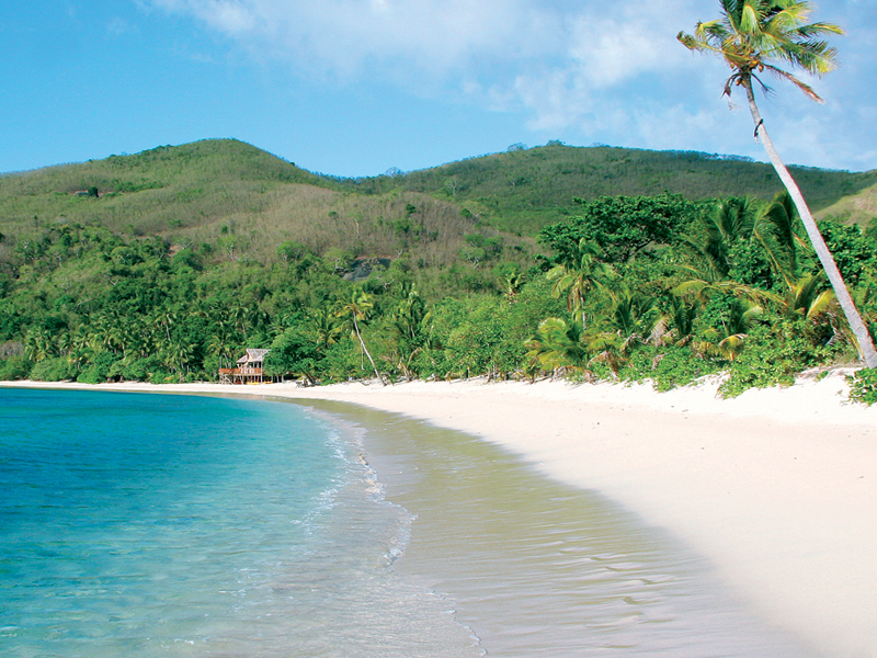 Photo: One of the many spectacular beaches in Fiji