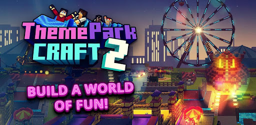 Theme Park Craft 2 Build Ride Roller Coaster Apps On Google Play