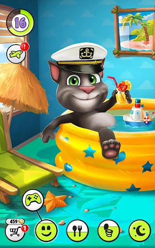 My Talking Tom  gameplay | by HackJr.Pw 11