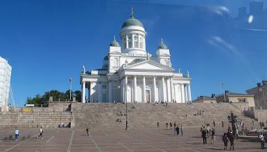 Photo: THE LUTHERAN CATHEDRAL  SENATE SQUARE    http://en.wikipedia.org/wiki/Helsinki_Senate_Square
