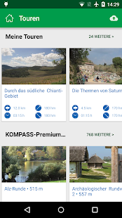 KOMPASS Wanderkarte- screenshot thumbnail