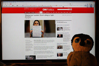 Photo: Carlisle was excited to see the article on CNN since he was there for the interview! You can read the article here: http://www.cnn.com/2012/06/28/politics/i-am-obamacare-turner/