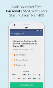 Fast and Easy Personal Loan Online & Credit Cards Screenshot