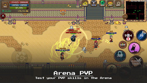 MMORPG Laurum Online - RPG - Pixel MMO - PVP apkdebit screenshots 3