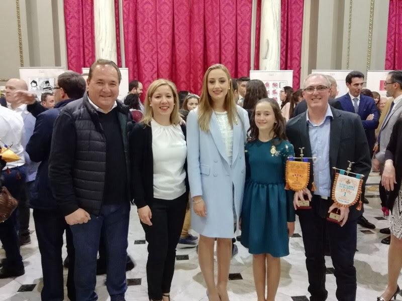 Reconocimiento a Vicente Llácer en la Gala de los Artistas Falleros
