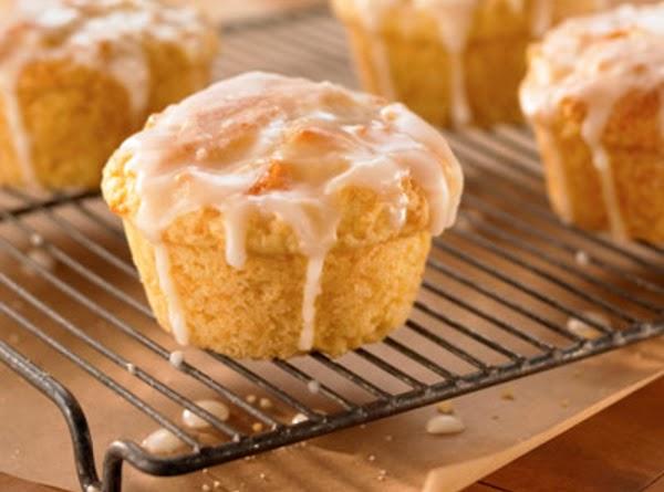 Peachy Yogurt Muffins Recipe