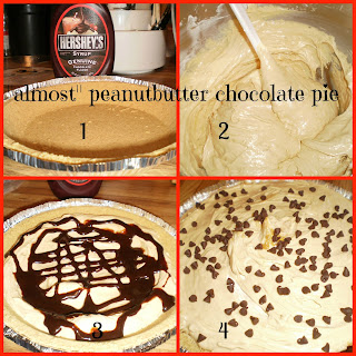 Almost Peanut Butter Chocolate Pie