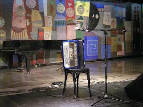 Photo: たまたま最近すごく気になってたアコーディオン奏者LUCAS Monzonさんの無料LIVEが。ラッキー!!