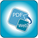 Convert web to PDF icon