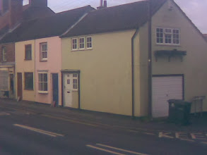 Photo: Miami or Horncastle? Pastel cottages, East St.