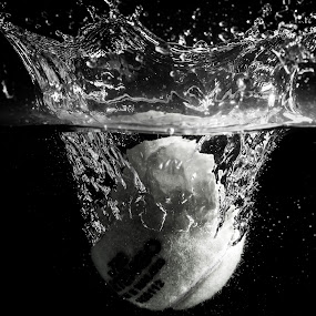 Water Ball by Adriano Freire - Abstract Water Drops & Splashes ( water, ball, splash, drop, dark )