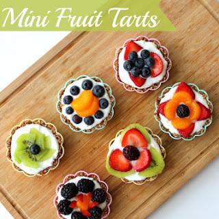 Gluten Free No Bake Fruit Tart.