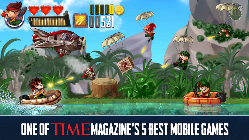 Free Download Ramboat - Offline Jumping Shooter and Running Game Cheat APK MOD