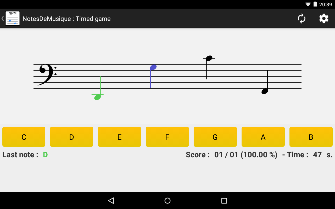 how to read music notation