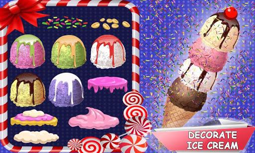 Rainbow Ice Cream Cone & Popsicle Maker Game 1.0 screenshots 2