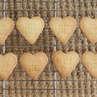 Shortbread Hearts Recipe