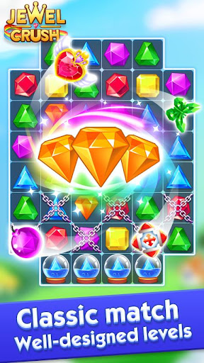 Jewel Crushu2122 - Jewels & Gems Match 3 Legend 4.0.5 screenshots 1