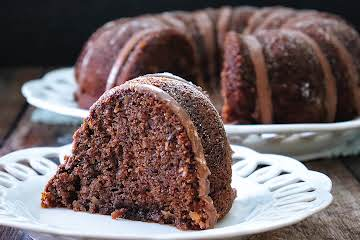 Inside-Out German Chocolate Bundt Cake