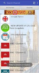 UK TV & Radio Screenshot
