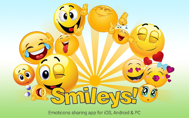 Smileys for Facebook: Emojis + New Stickers