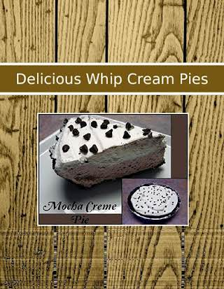 Delicious  Whip Cream Pies