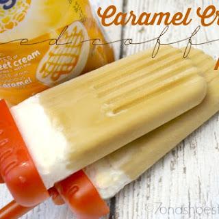 Caramel Crème Iced Coffee Pops