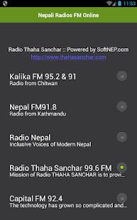Nepálský rádia FM Online - náhled