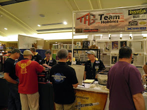 Photo: TAG Team Hobbies selling Iwata airbrushes and more.