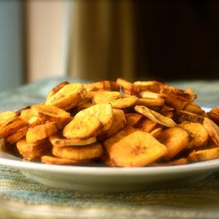 Savory Banana Chips.
