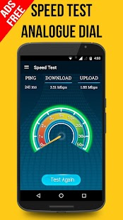 Speed Test Pro & Wifi Analyzer Screenshot