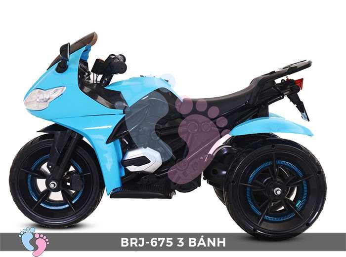 Xe moto điện trẻ em BRJ-675 3 bánh 4