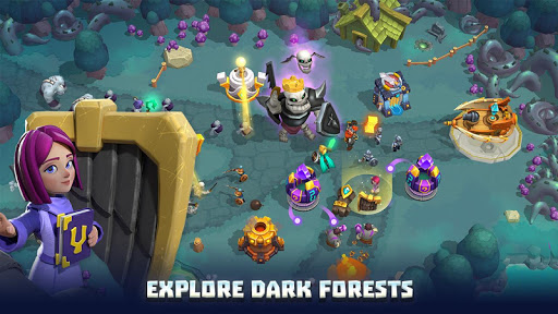 Wild Sky Tower Defense: Epic TD Legends in Kingdom apkmr screenshots 21