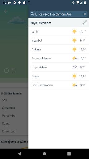 Meteoroloji Hava Durumu 6.1.8 Screenshots 4