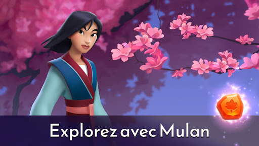 Code Triche Disney Princesses Puzzle Royal : Match 3 et Du00e9co APK MOD (Astuce) screenshots 2