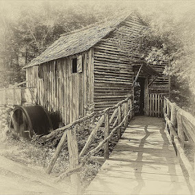 Cable Grist Mill in Cades Cove by Charles Hardin - Buildings & Architecture Other Exteriors