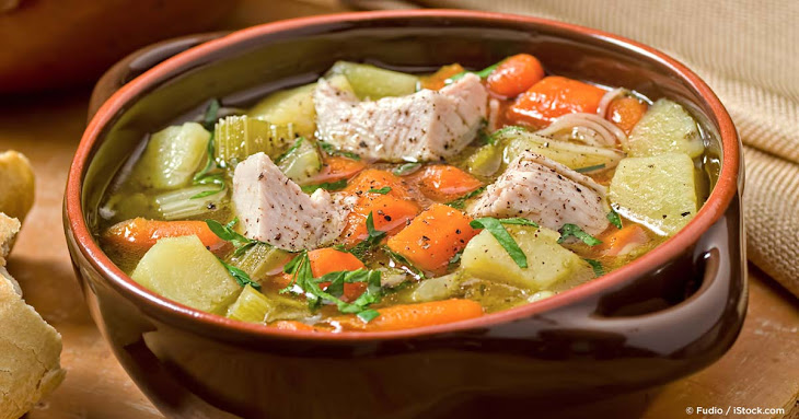 Roast Turkey Vegetable Soup Recipe | Yummly